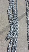 2008 of shiny regalvanised chain