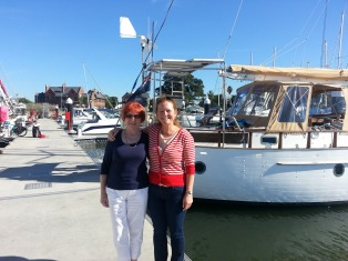 mum is a great sailor too! xx