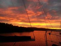 Kettering sunsets, Tasmania