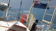blue ensign flying