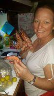 prawns of the trawler in Tin Can Bay